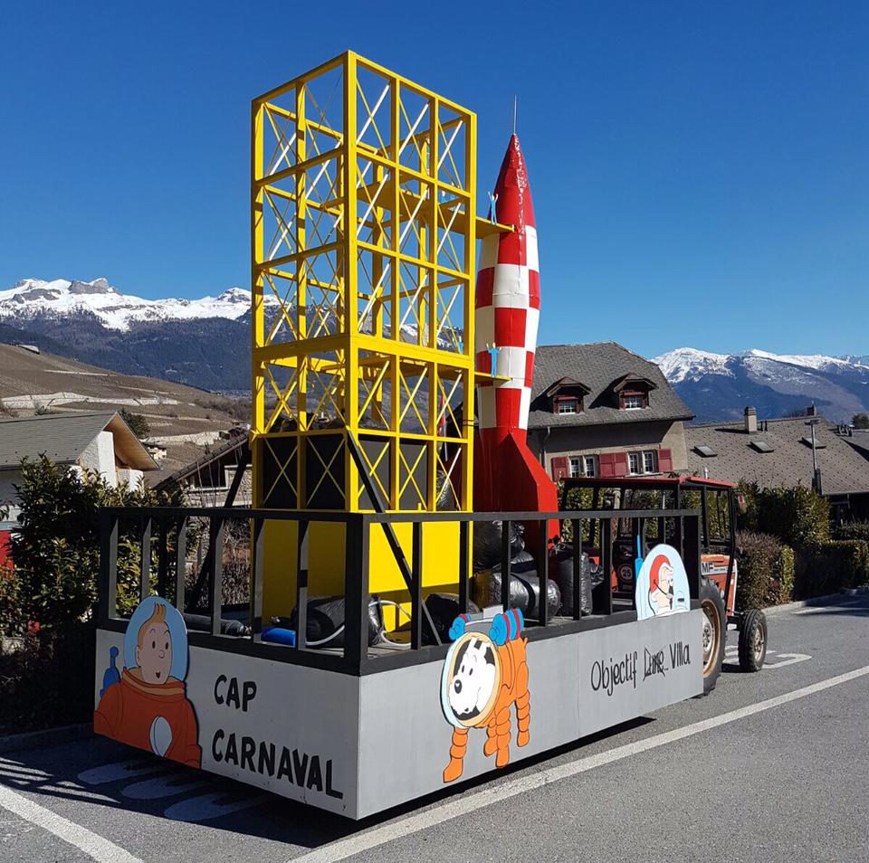 Carnaval : Le Char De Villa Gagne à Chalais