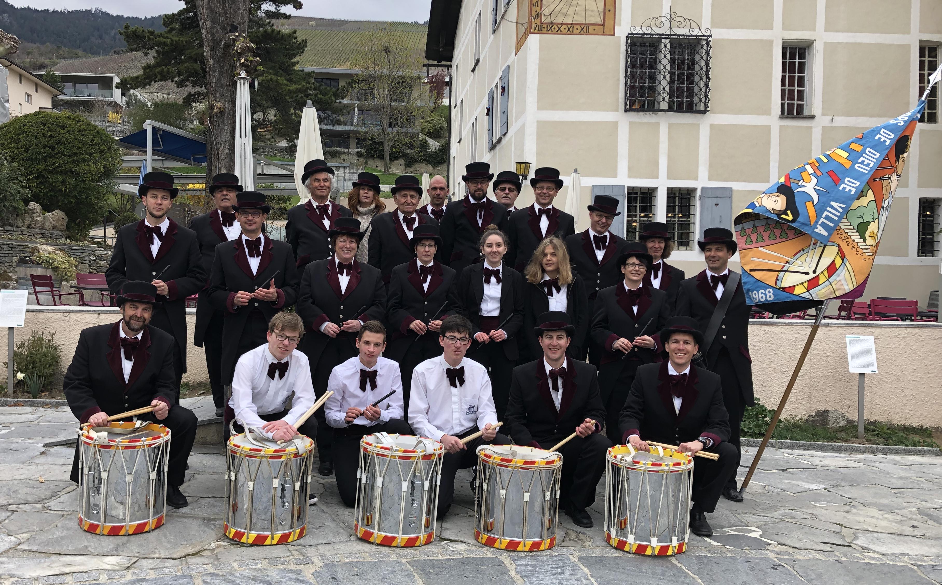Les Fifres Et Tambours De Villa Animeront La Ville De Sierre à Pâques
